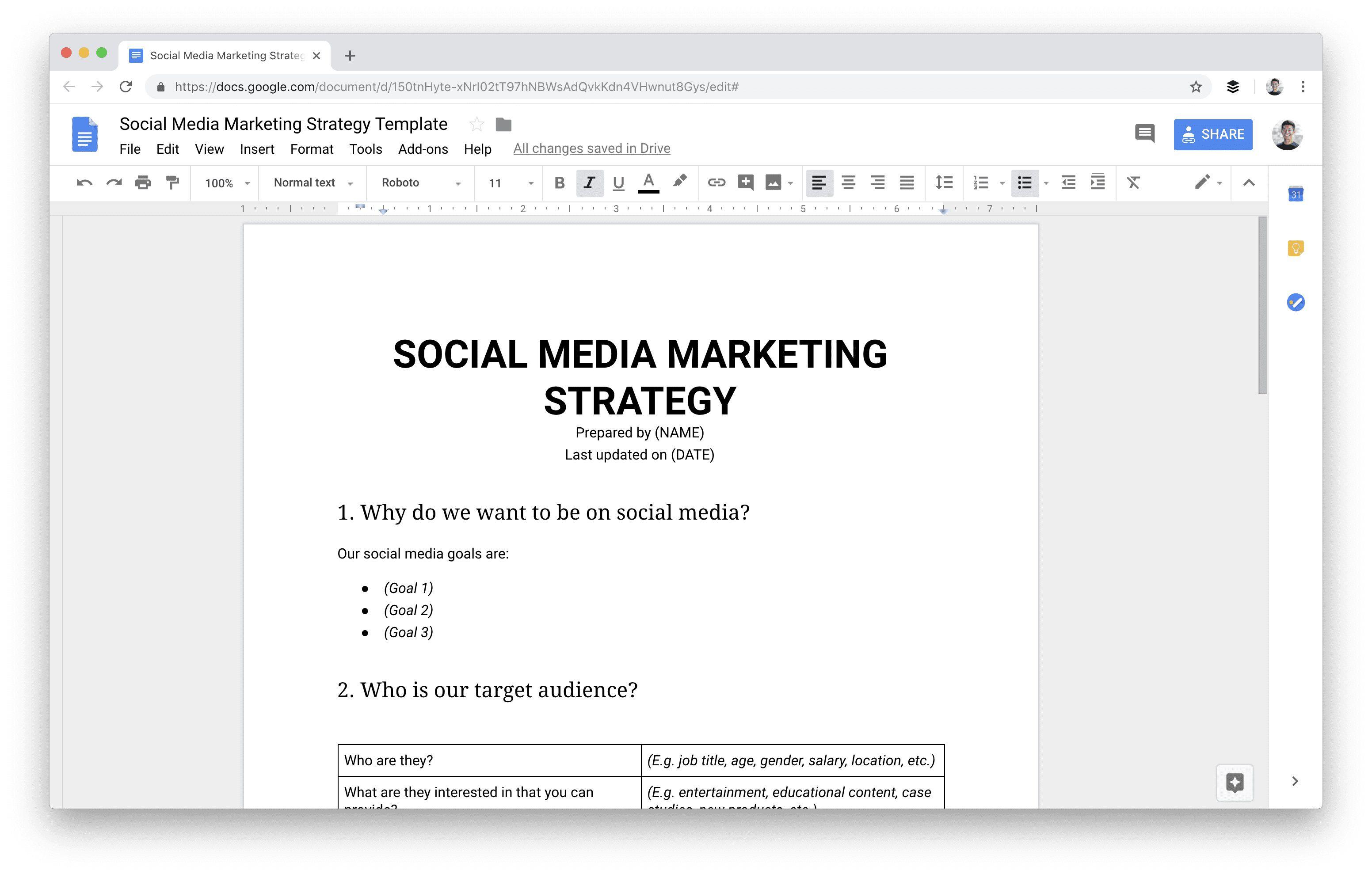 009 Marvelou Social Media Planning Template Image  Plan Sample Pdf Hubspot Excel Free DownloadFull