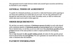 009 Marvelou Term Of Agreement Template Design  Service Contract Busines Uk