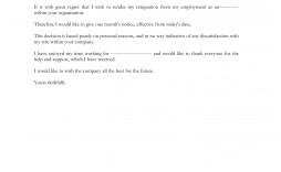 009 Outstanding 2 Week Notice Template Word Sample  Free Microsoft