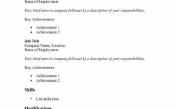 009 Outstanding Basic Resume Template Word Image  Free Download 2020