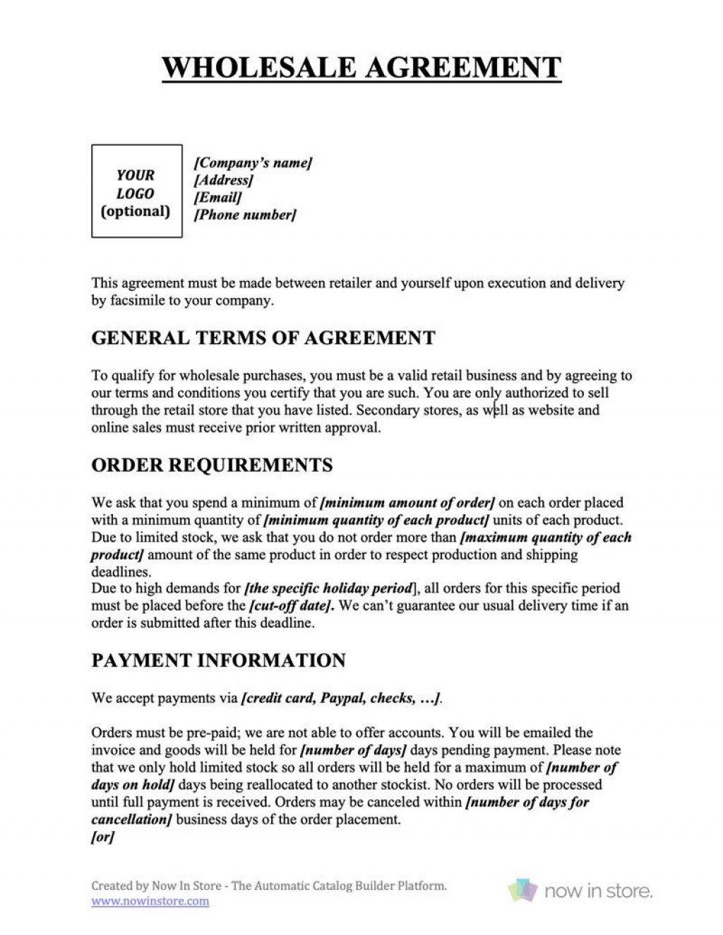 009 Outstanding Busines Sale Agreement Template Free Download Example  Uk Nz SimpleLarge