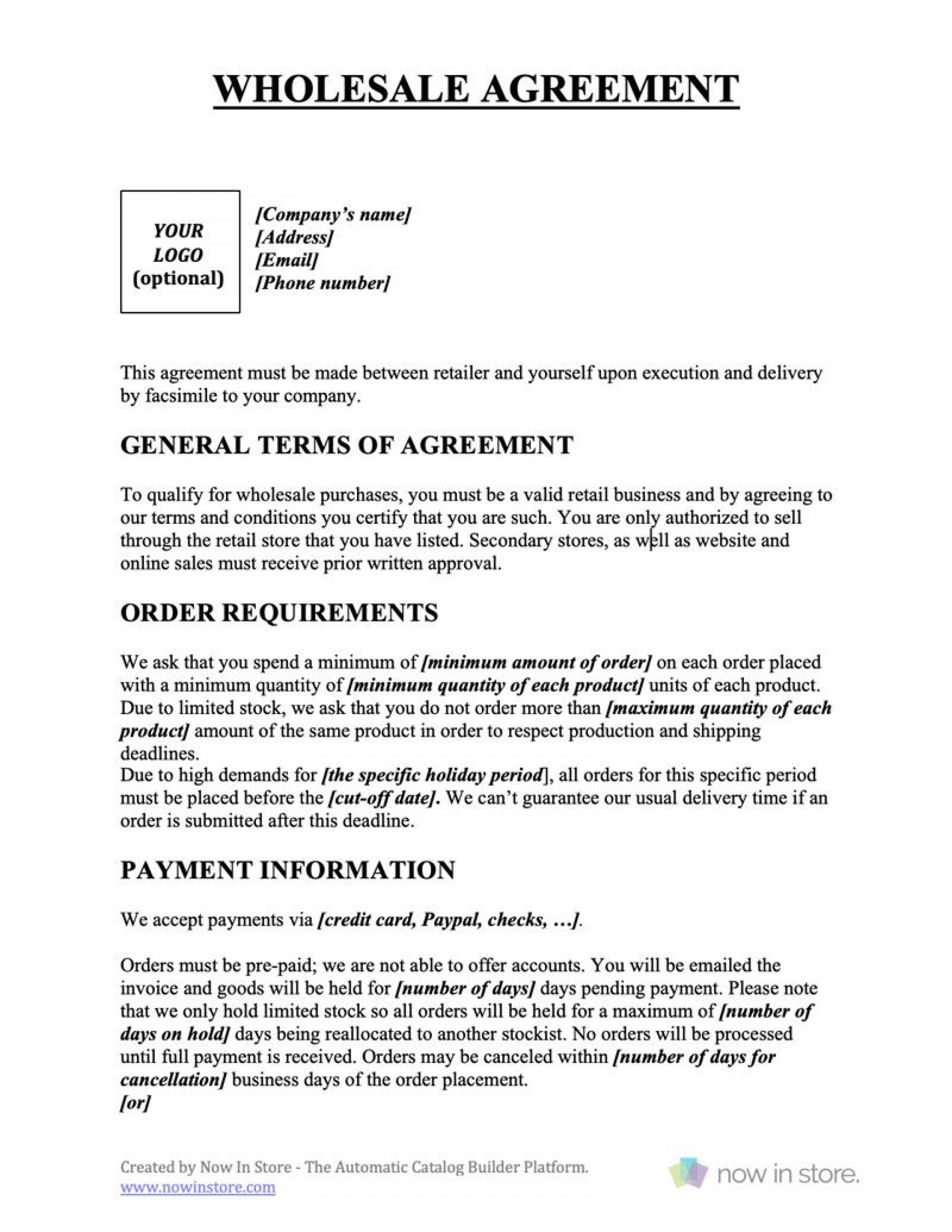 009 Outstanding Busines Sale Agreement Template Free Download Example  Uk Nz Simple1920