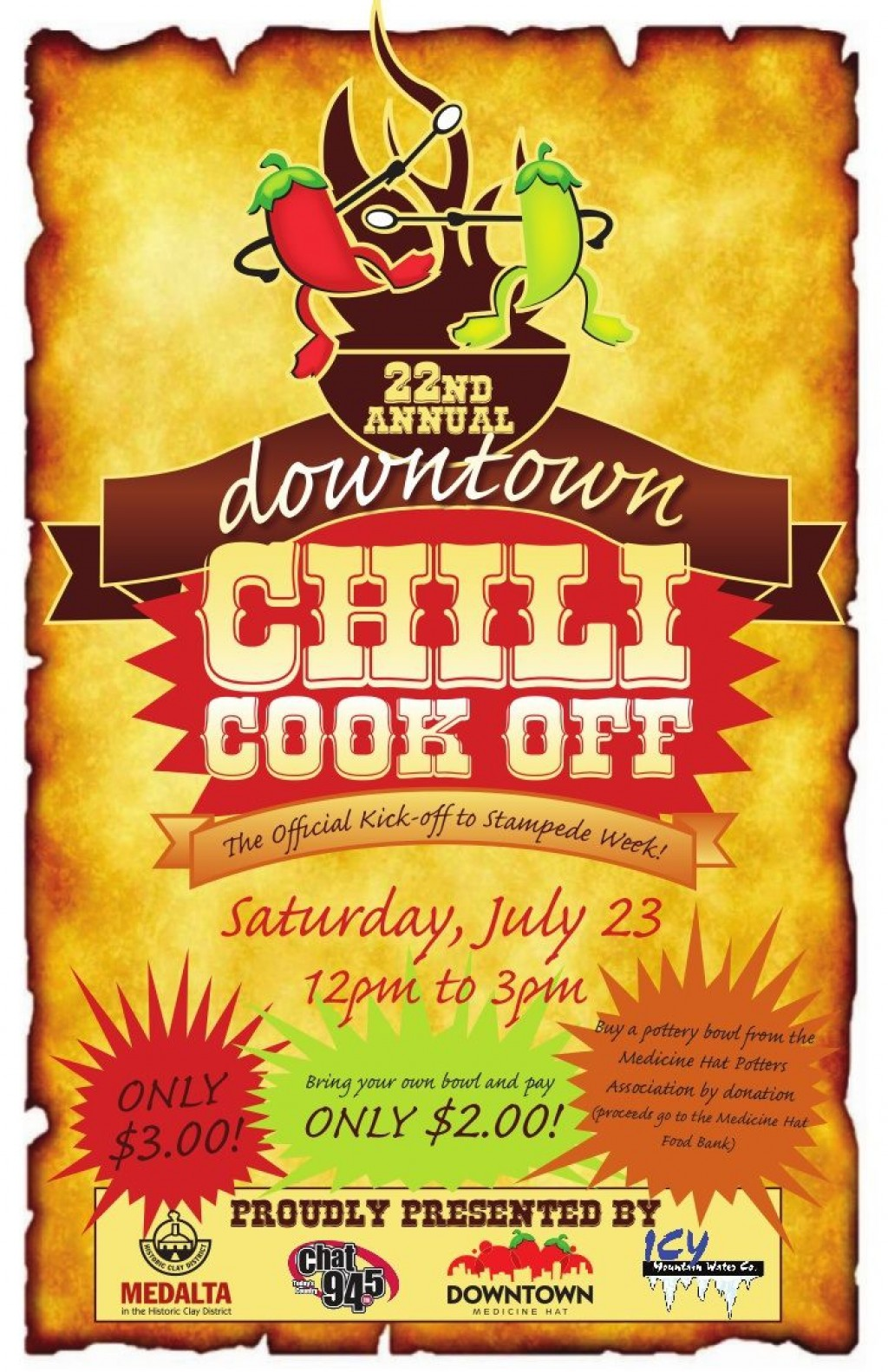 009 Outstanding Chili Cook Off Flyer Template Idea  Halloween Office PowerpointLarge