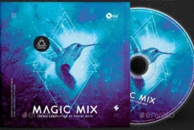 009 Outstanding Free Cd Cover Design Template Photoshop High Def  Label Psd Download