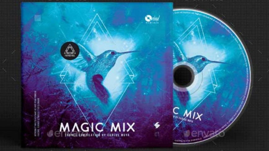 009 Outstanding Free Cd Cover Design Template Photoshop High Def  Label Psd Download868