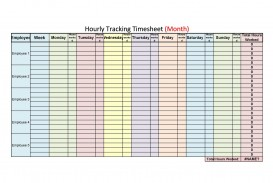 009 Outstanding Free Hourly Schedule Template Word Picture