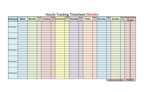 009 Outstanding Free Hourly Schedule Template Word Picture 480
