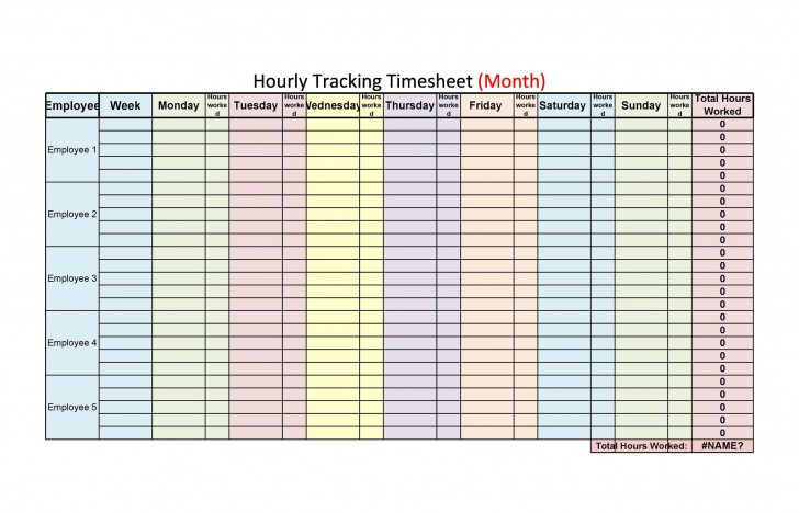 009 Outstanding Free Hourly Schedule Template Word Picture 728