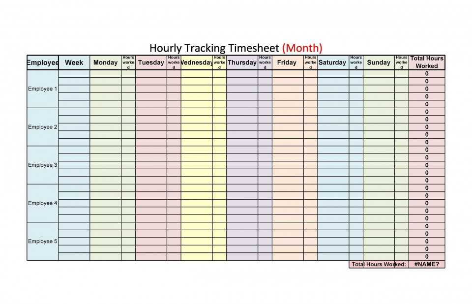009 Outstanding Free Hourly Schedule Template Word Picture 960