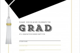 009 Outstanding Free Printable Graduation Invitation Template Example  Preschool Card 2019