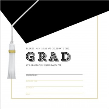009 Outstanding Free Printable Graduation Invitation Template Example  Preschool Card 2019360