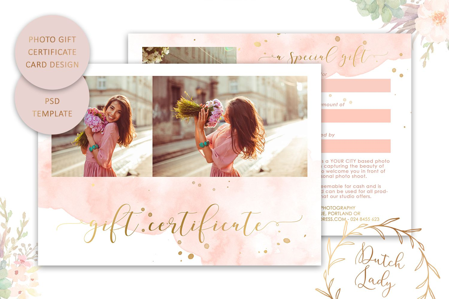 009 Outstanding Gift Card Template Psd High Resolution  Christma Photoshop Free HolderFull