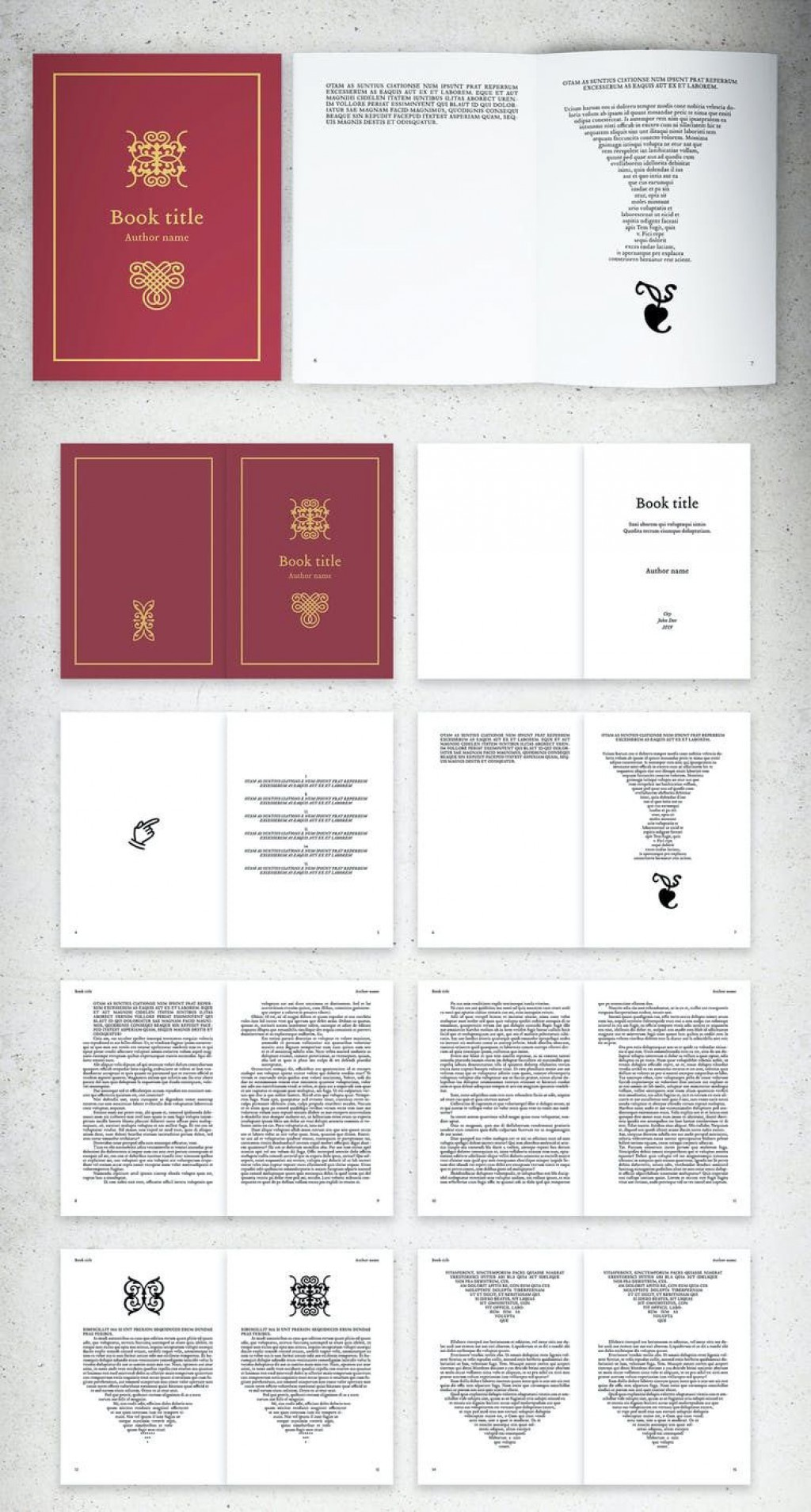 009 Outstanding Indesign Book Layout Template Inspiration  Free DownloadLarge