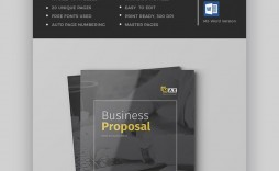 009 Outstanding Microsoft Word Busines Proposal Template Idea  Letter Free Download