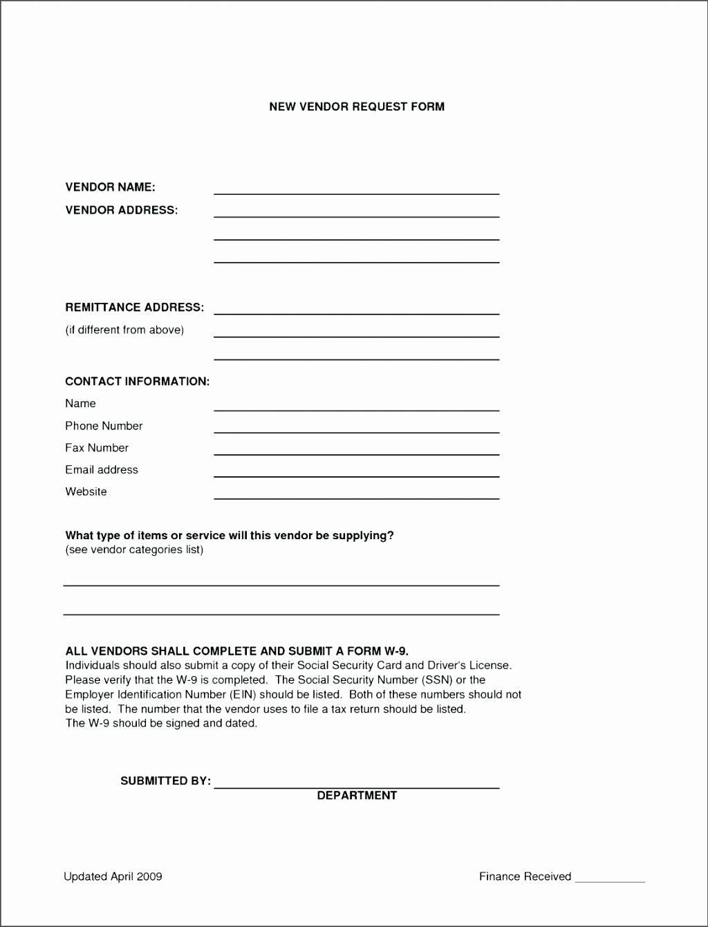 009 Outstanding New User Setup Form Template Sample  Customer Word Account Vendor ExcelLarge