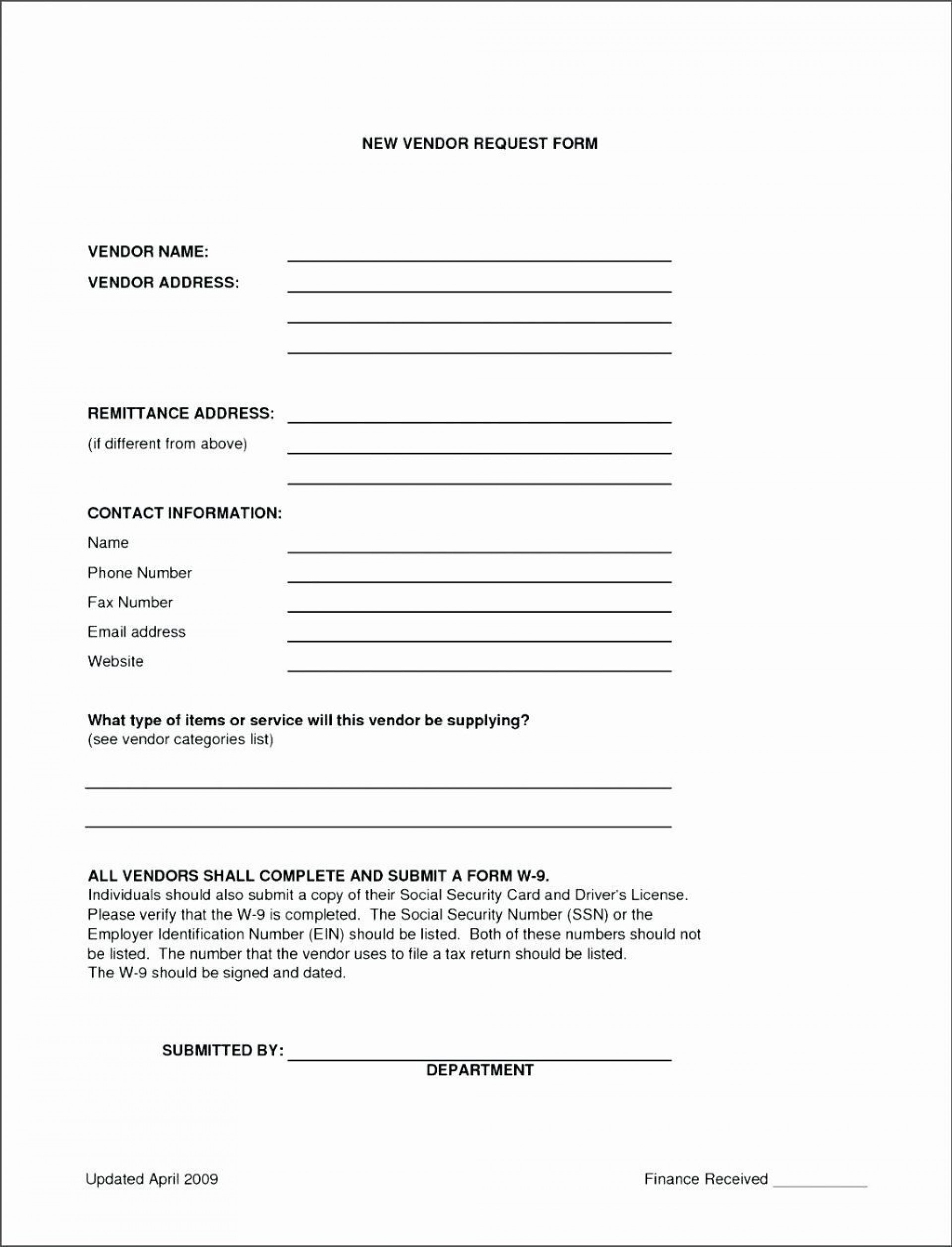 009 Outstanding New User Setup Form Template Sample  Customer Word Account Vendor Excel1920