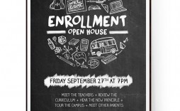 009 Outstanding Open House Flyer Template Word Example  Free Microsoft School