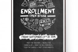 009 Outstanding Open House Flyer Template Word Example  Free Microsoft