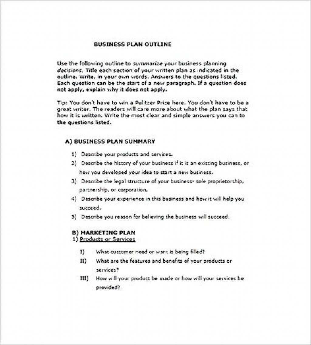 009 Outstanding Photography Busines Plan Example Idea  Examples Pdf ProposalLarge