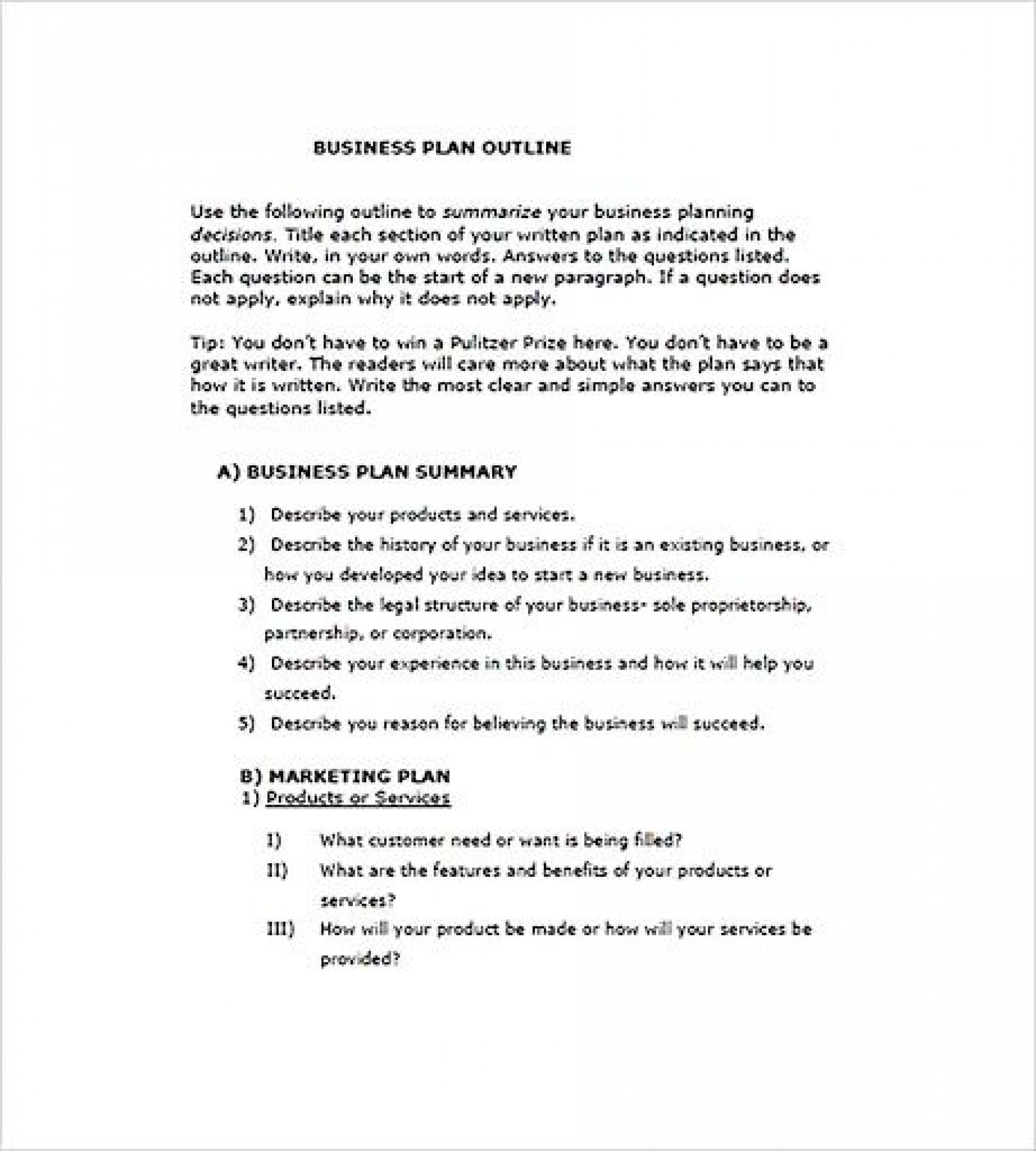 009 Outstanding Photography Busines Plan Example Idea  Examples Pdf Proposal1920