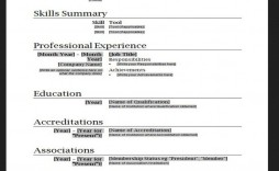 009 Outstanding Resume Template For Wordpad High Definition  Free Cv Download