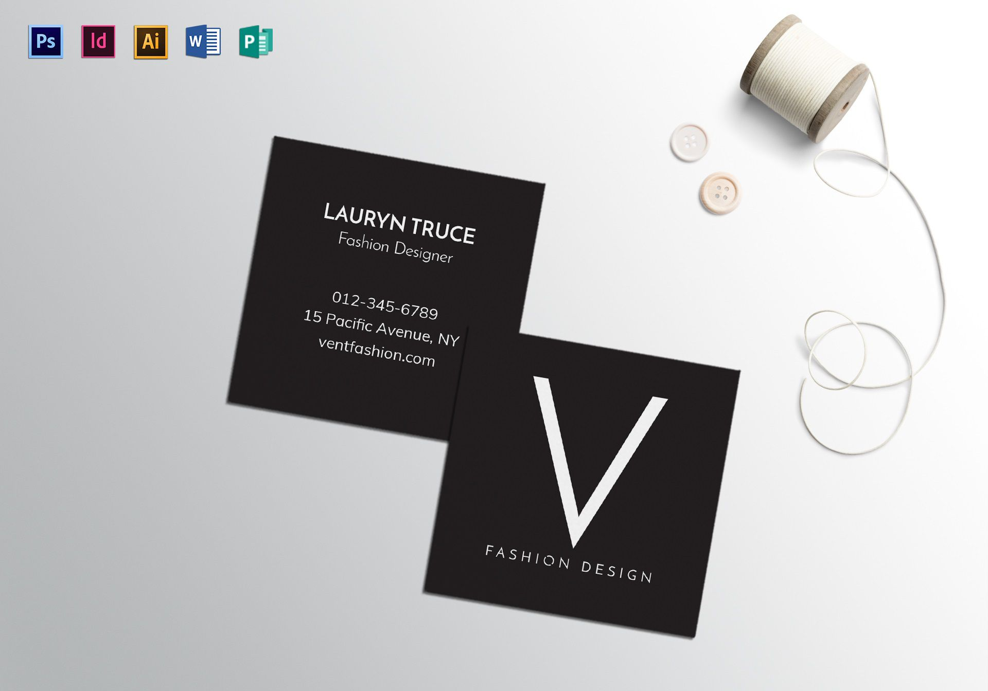 009 Outstanding Square Busines Card Template High Definition  Free Download PhotoshopFull