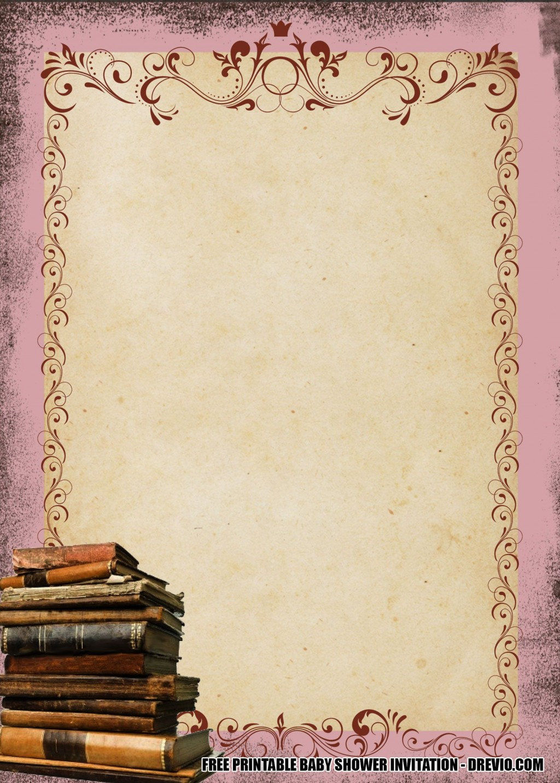 009 Phenomenal Alice In Wonderland Invite Template Image  Party Invitation FreeLarge