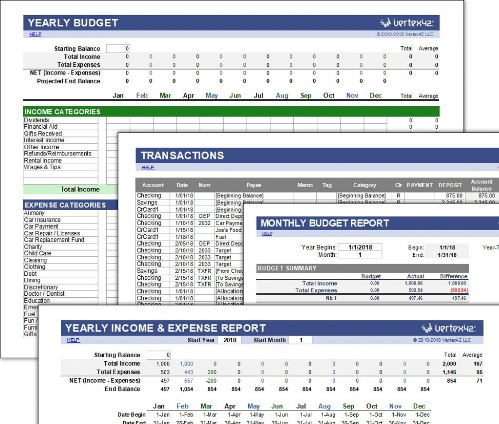009 Phenomenal Annual Busines Budget Template Excel Image  Small FreeLarge