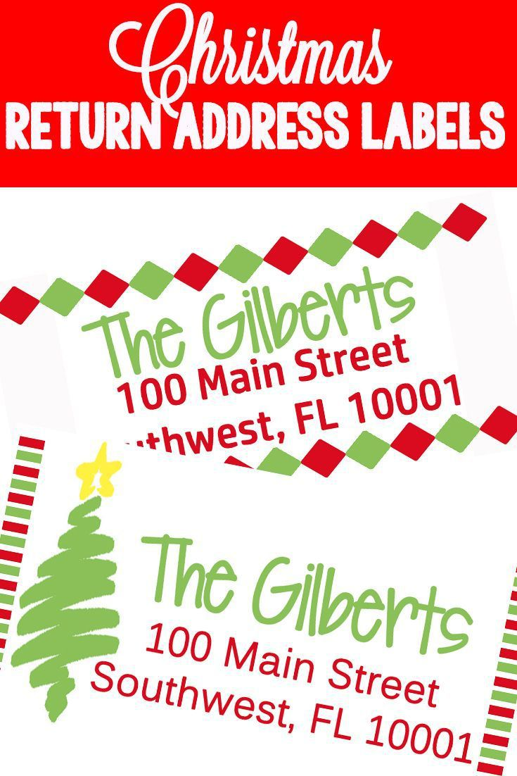 009 Phenomenal Christma Mailing Label Template High Resolution  Addres Free Download ReturnFull