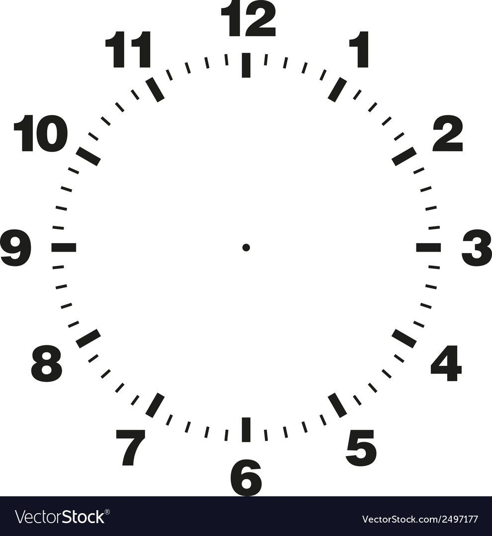 009 Phenomenal Customizable Clock Face Template High Definition Full