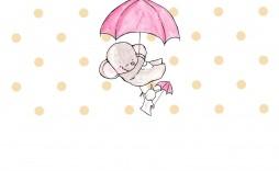 009 Phenomenal Elephant Girl Baby Shower Invitation Template Photo  Templates Pink