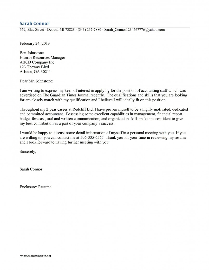 009 Phenomenal Email Cover Letter Example Uk Inspiration