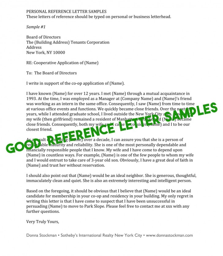 009 Phenomenal Free Reference Letter Template For Tenant Highest Quality 728