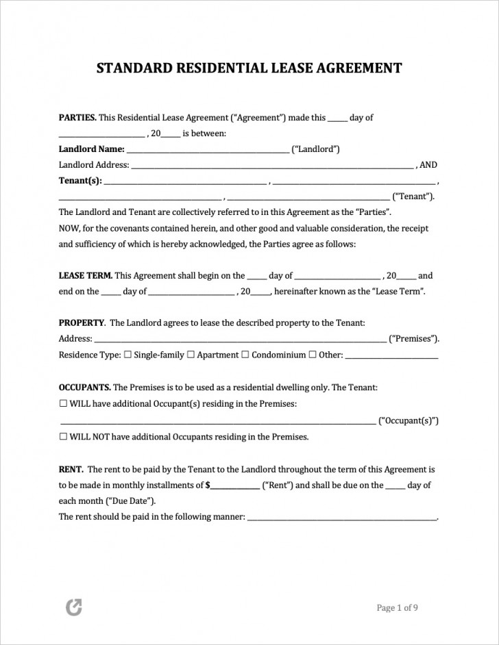 009 Phenomenal Free Rental Agreement Template Word High Resolution  South Africa House Lease Doc728