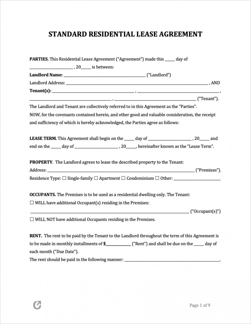 009 Phenomenal Free Rental Agreement Template Word High Resolution  South Africa House Lease Doc868