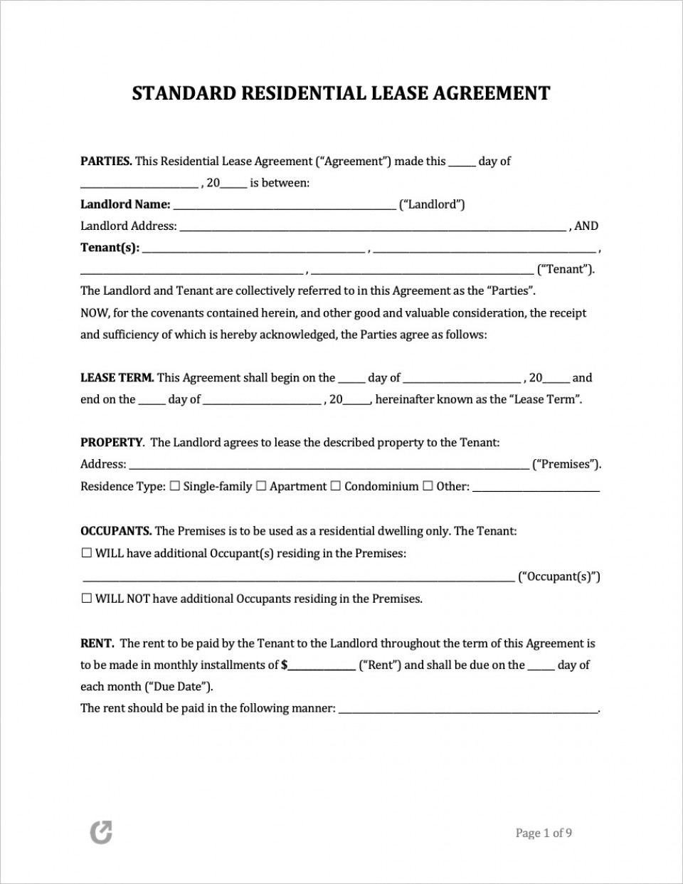 009 Phenomenal Free Rental Agreement Template Word High Resolution  South Africa House Lease Doc960