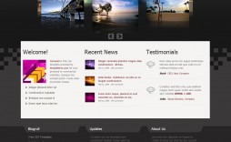 009 Phenomenal Free Website Template Download Html And Cs Jquery Slider High Def