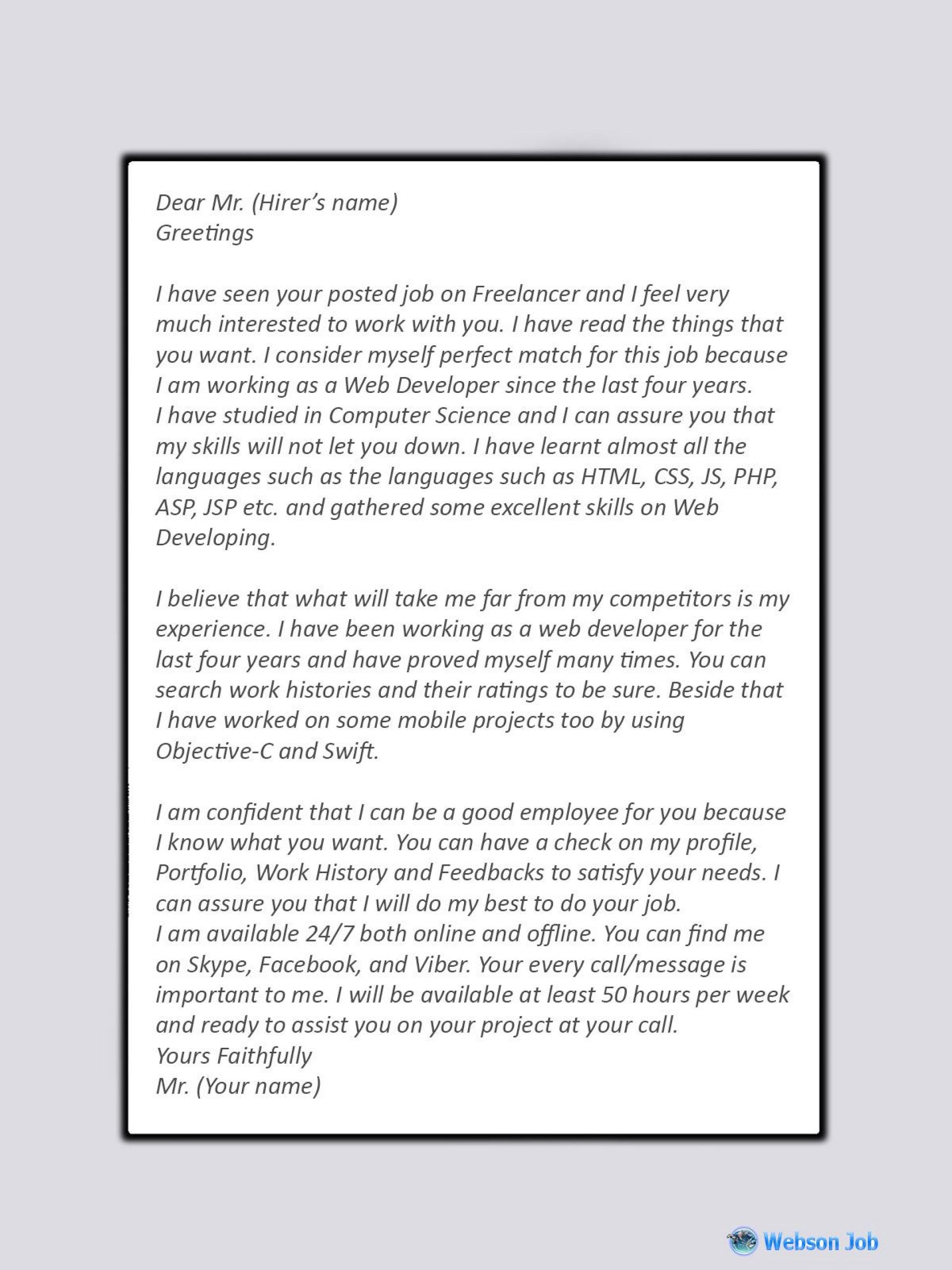 009 Phenomenal Freelance Web Developer Proposal Template Highest Clarity 1920