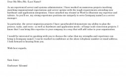 009 Phenomenal Good Cover Letter Example Download  Word