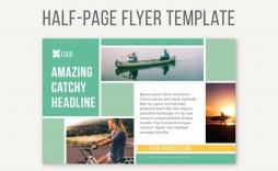 009 Phenomenal Half Page Flyer Template Inspiration  Templates Google Doc Free Word Canva
