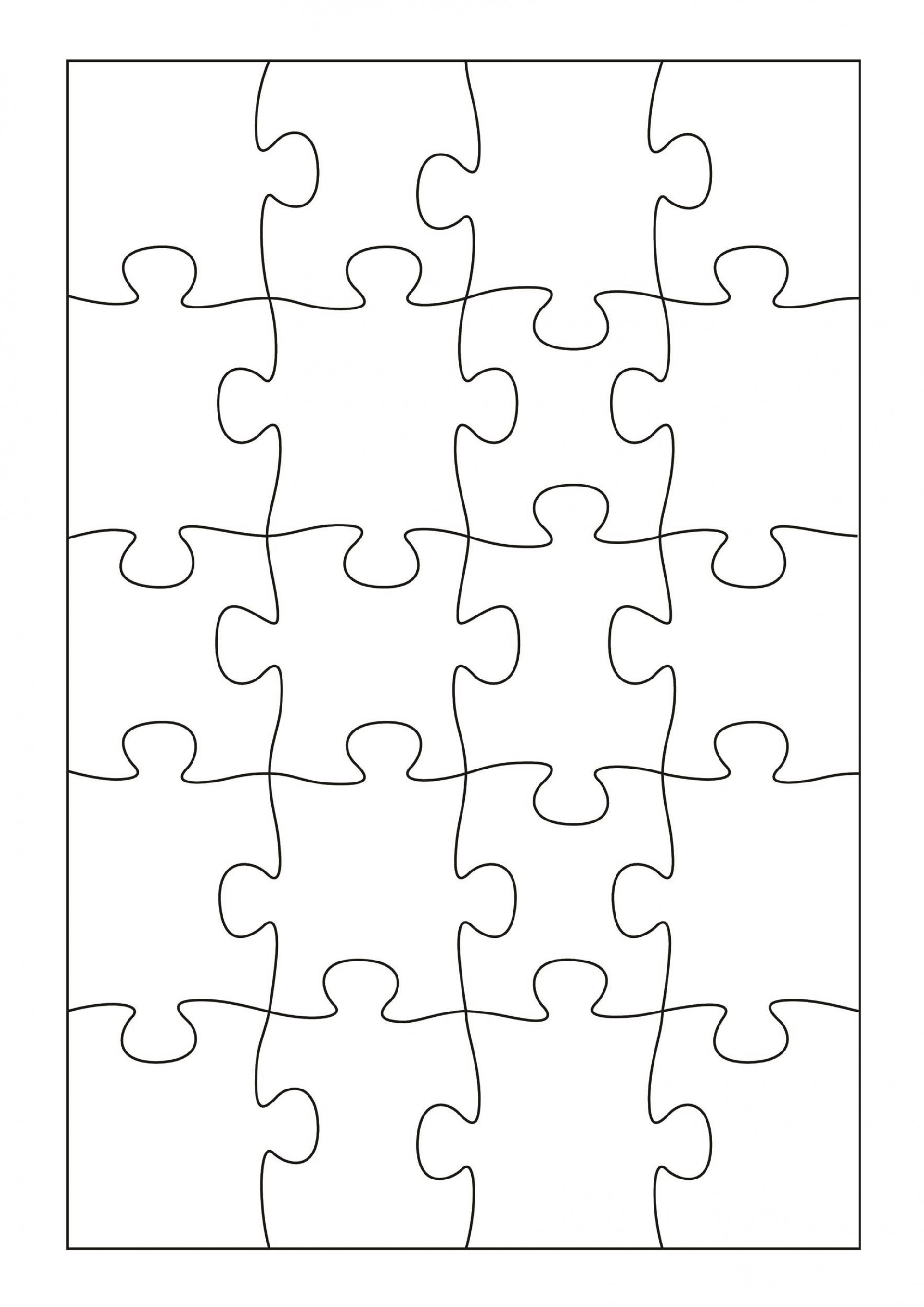 009 Phenomenal Jig Saw Puzzle Template Highest Quality  Printable Blank Jigsaw Vector Free Png1920