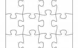 009 Phenomenal Jig Saw Puzzle Template Highest Quality  Printable Blank Jigsaw Vector Free Png