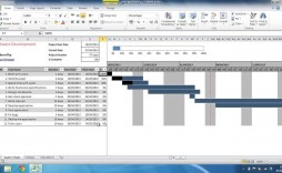 009 Phenomenal Microsoft Excel Gantt Chart Template Image  Project Planner In Simple Free Download