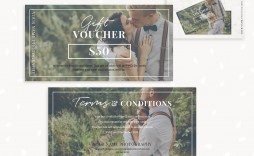 009 Phenomenal Photography Gift Certificate Template Photoshop Free Inspiration
