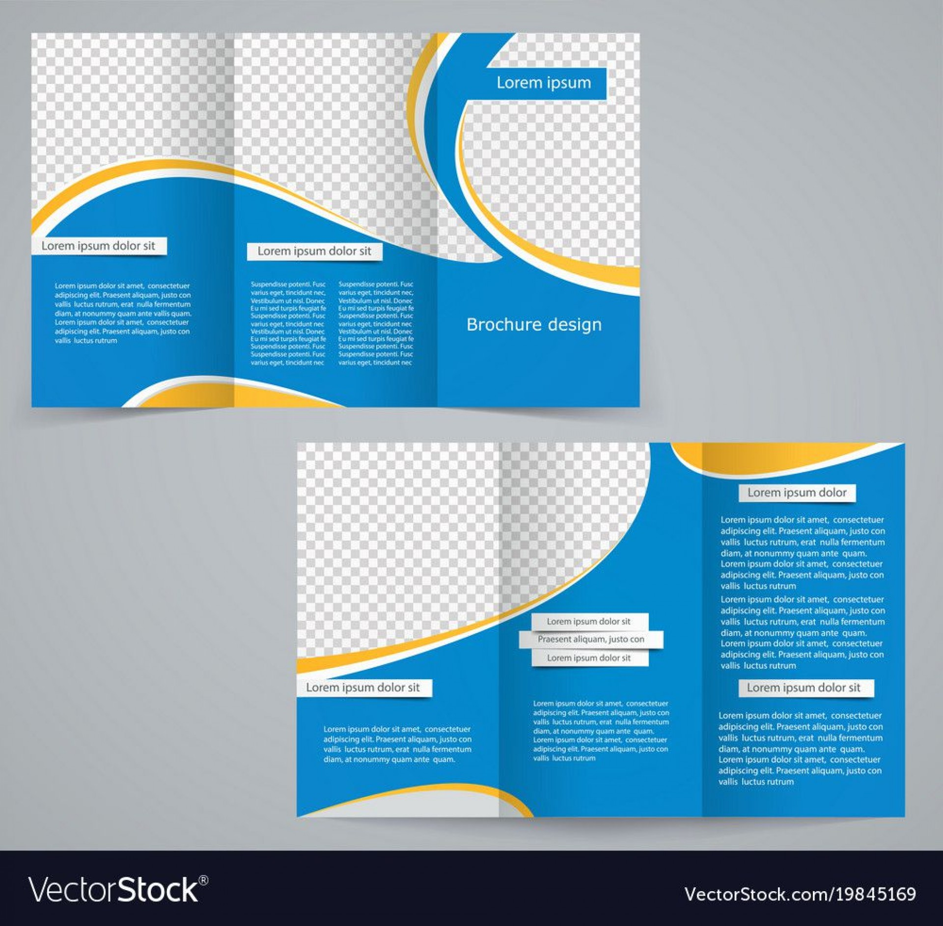 009 Phenomenal Three Fold Brochure Template High Def  Word Free 3 Psd Download1920
