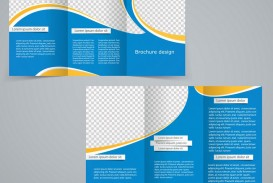 009 Phenomenal Three Fold Brochure Template High Def  Word Free 3 Psd Download