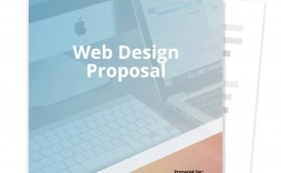 009 Phenomenal Web Design Proposal Template High Def  Designer Writing Word Document Simple