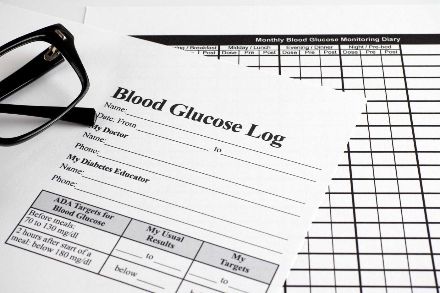 009 Rare Blood Glucose Diary Template Idea 1400