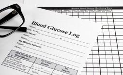 009 Rare Blood Glucose Diary Template Idea