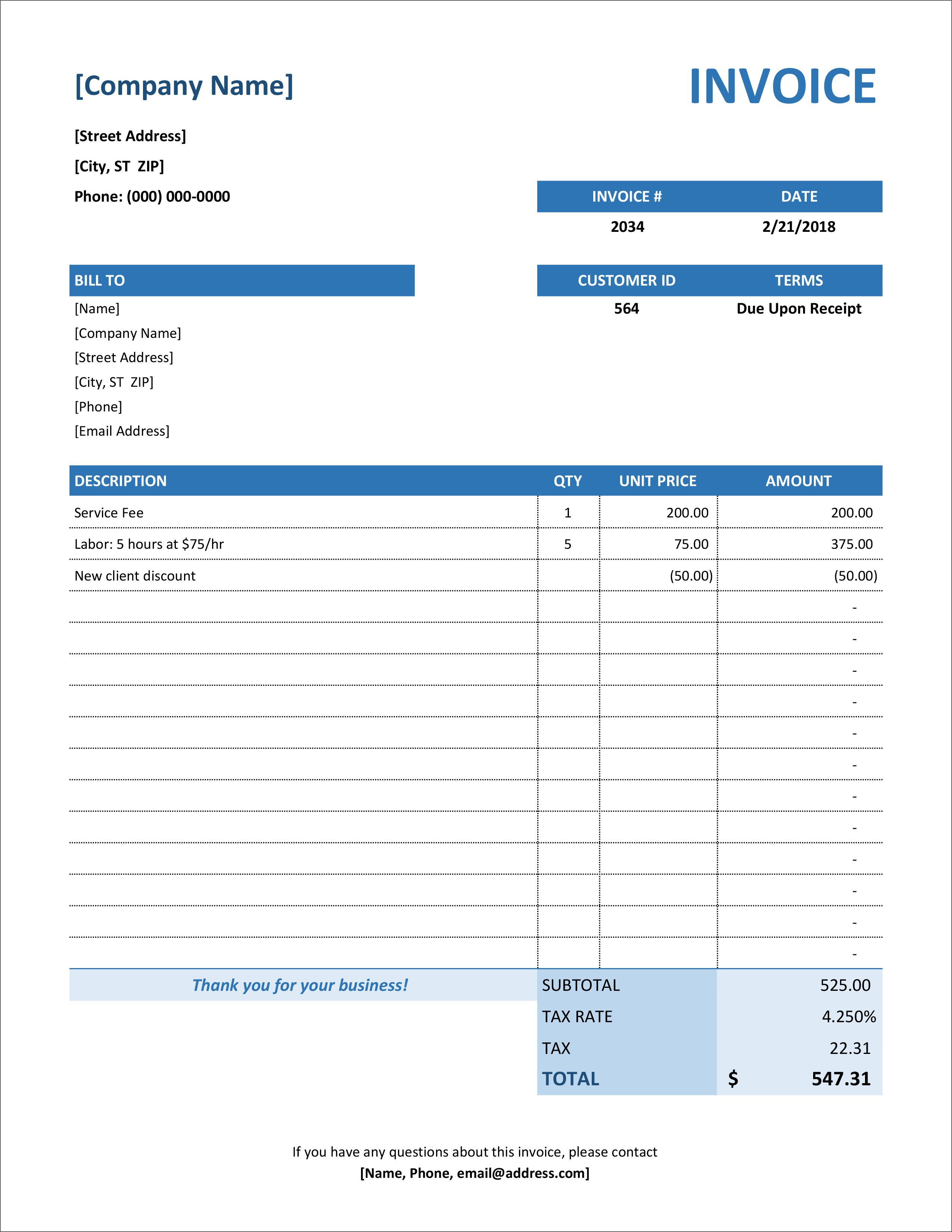009 Rare Excel Invoice Tracking Template Download Inspiration Full